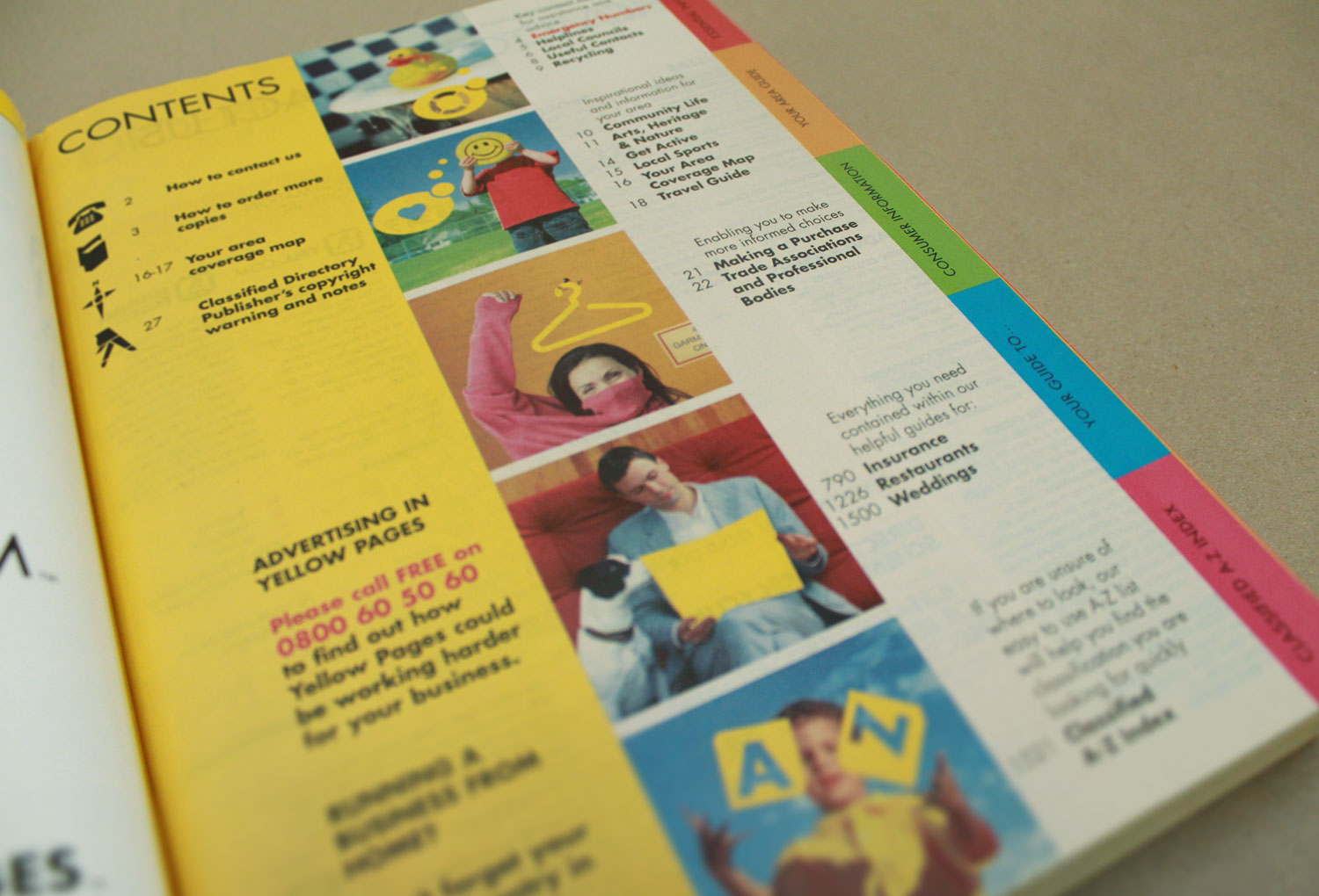 Dinnis Design Project Yellow Pages Redesign